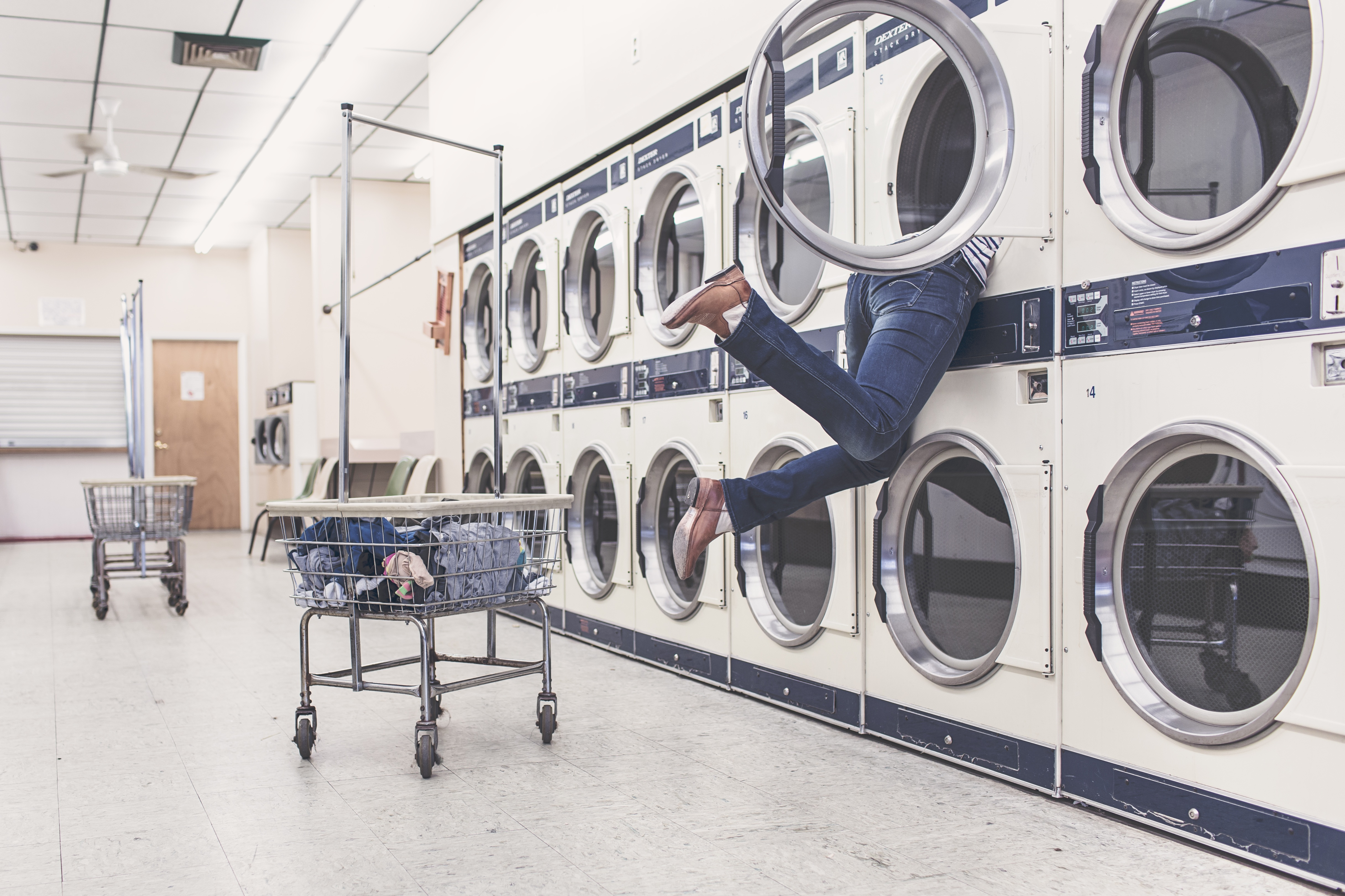 Processos e métodos de secagem de roupa