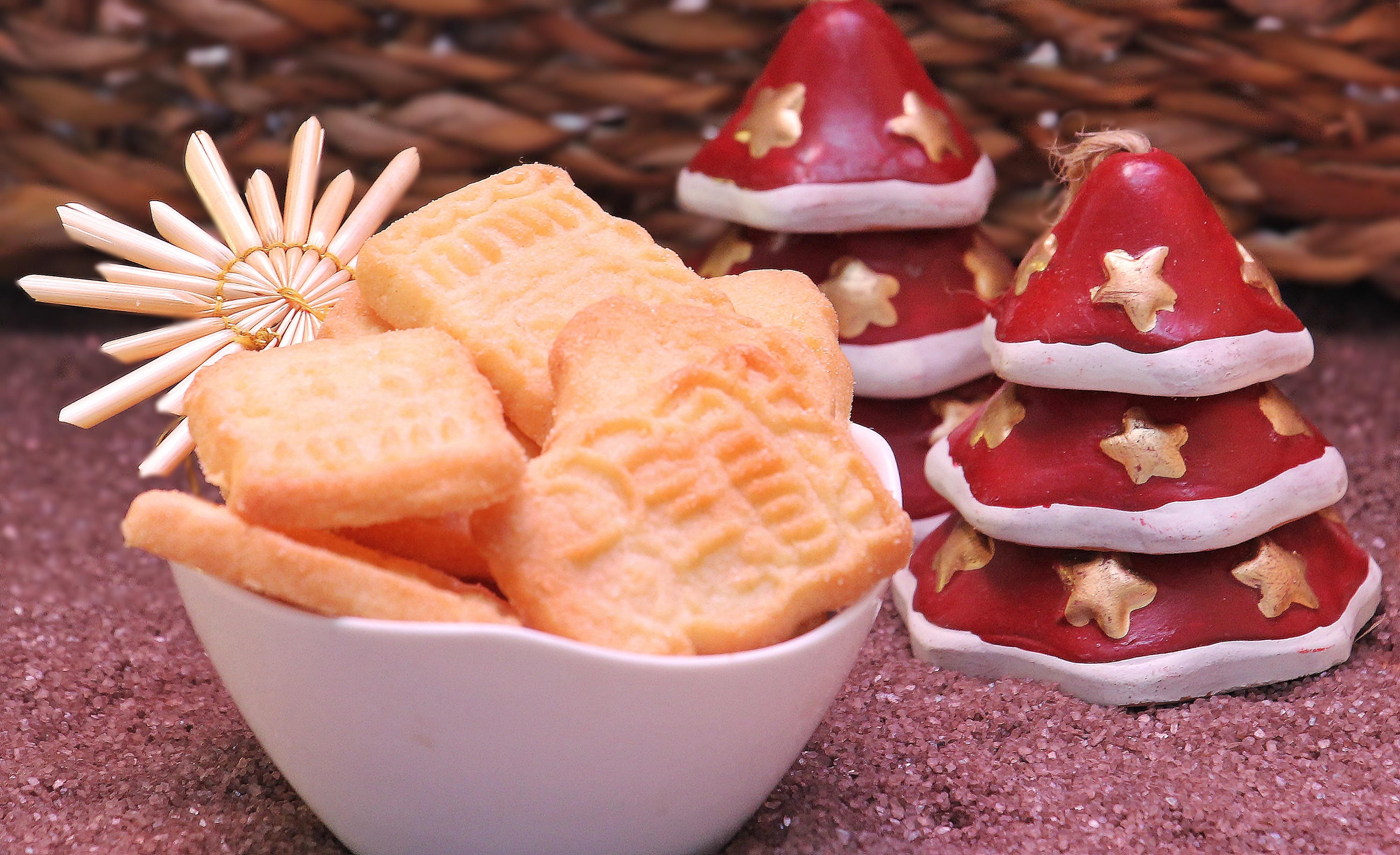 Confeção de pastelaria de natal